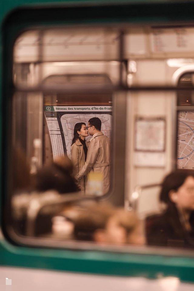 Ảnh cưới của BTV Thu Hà và bạn trai ở Pháp-11