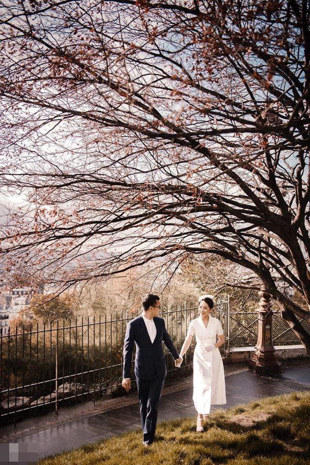 Ảnh cưới của BTV Thu Hà và bạn trai ở Pháp-7