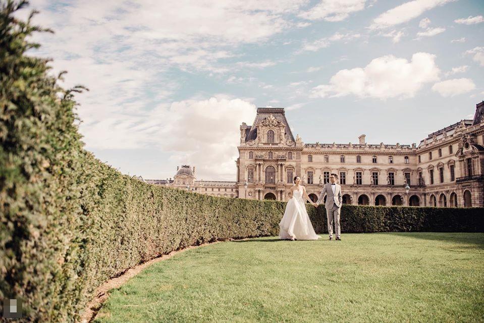 Ảnh cưới của BTV Thu Hà và bạn trai ở Pháp-8