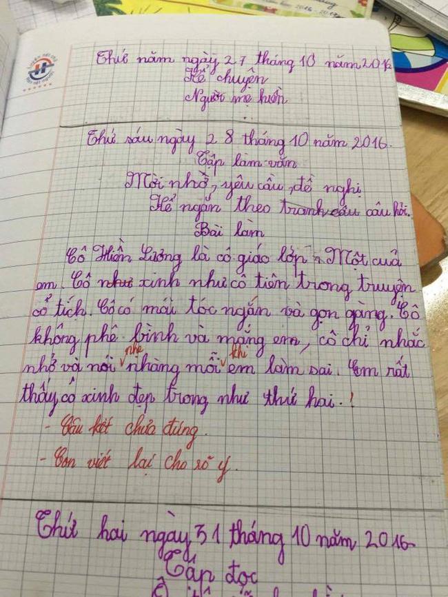 Điểm lại những bài văn tả cô giáo ngây ngô, khiến dân mạng cười chảy nước mắt của học sinh tiểu học-3