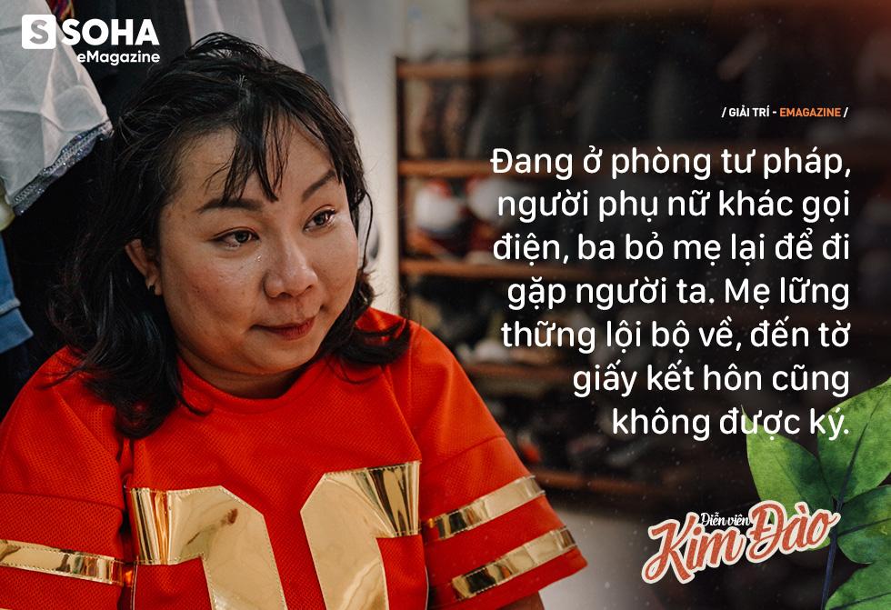 Diễn viên Kim Đào: Mẹ bị hành hạ, phải sinh con ở chuồng heo vì bà nội bảo không hợp tuổi-10