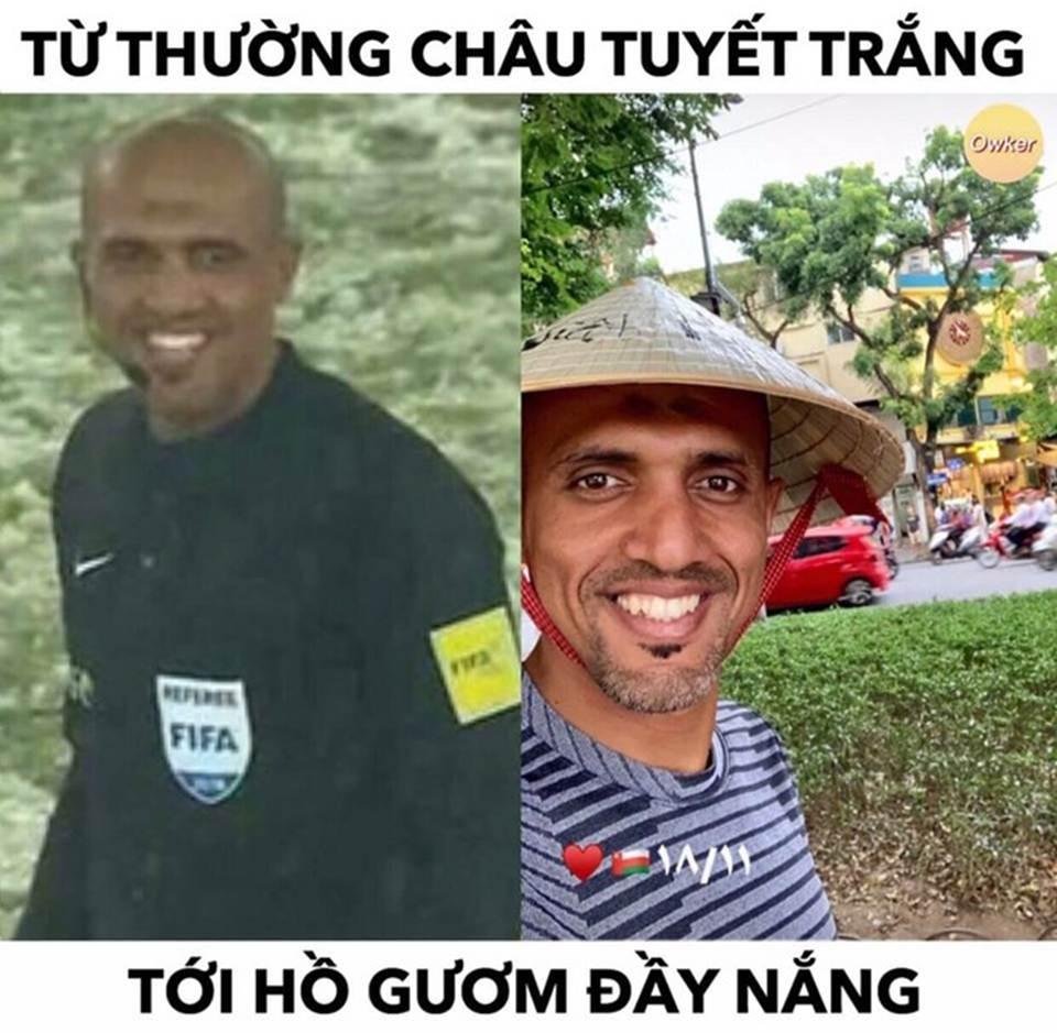 Trọng tài người Oman thành đề tài ảnh chế trước trận với Thái Lan-4
