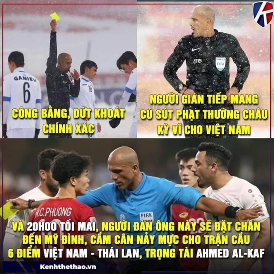 Trọng tài người Oman thành đề tài ảnh chế trước trận với Thái Lan-5