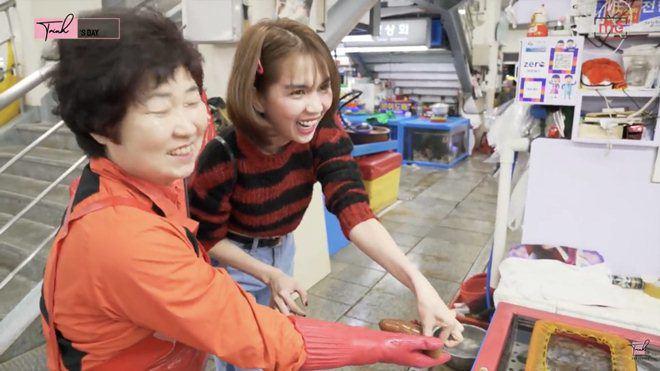 Hoa hậu Kỳ Duyên, Ngọc Trinh đều thích thú với món ăn mà ai nghe tên cũng cười khúc khích-4