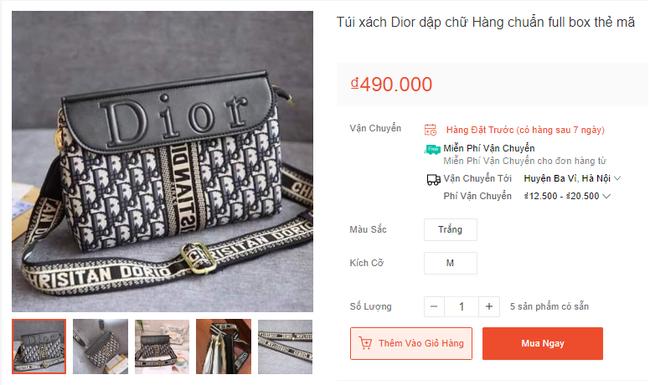 Vô vàn hàng hiệu từ túi xách đến nước hoa với giá từ vài chục tới vài trăm nghìn đồng đang được bán tràn lan trên mạng-4