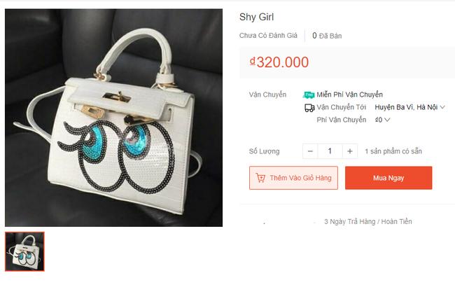 Vô vàn hàng hiệu từ túi xách đến nước hoa với giá từ vài chục tới vài trăm nghìn đồng đang được bán tràn lan trên mạng-5
