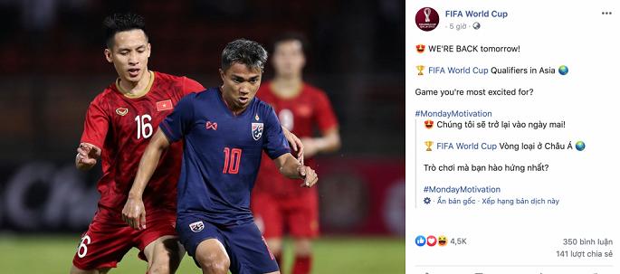 FIFA chọn Việt Nam vs Thái Lan là trận cầu tâm điểm thế giới-1