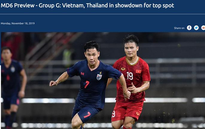 FIFA chọn Việt Nam vs Thái Lan là trận cầu tâm điểm thế giới-2
