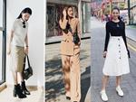 Street style sao Việt: Phạm Quỳnh Anh ăn vận như teen girl, HH Thu Thảo diện váy thùng thình cứ như đang bầu tập 2-18