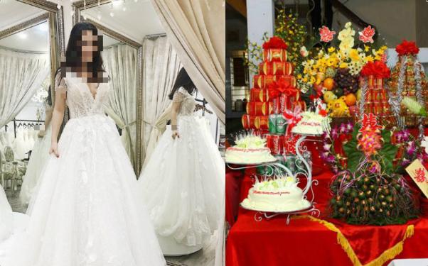 Lấy được chồng xịn, đặt váy cưới gần trăm triệu nhưng ăn hỏi xong cô dâu lại đăng đàn pass lại với giá bằng cốc trà đá vì lý do cười ra nước mắt-1