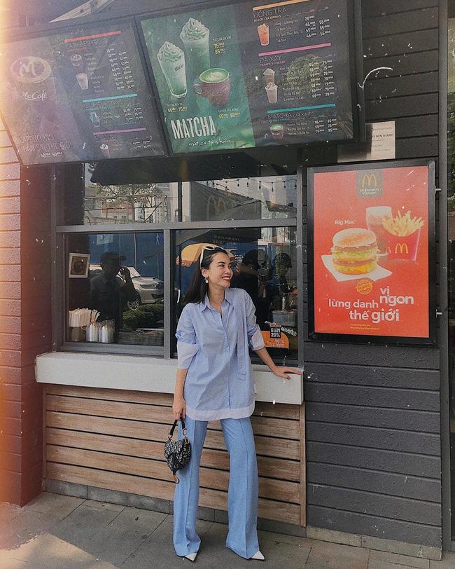 Street style sao Việt: Phạm Quỳnh Anh ăn vận như teen girl, HH Thu Thảo diện váy thùng thình cứ như đang bầu tập 2-15