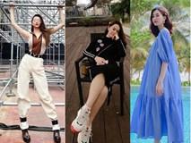Street style sao Việt: Phạm Quỳnh Anh ăn vận như teen girl, HH Thu Thảo diện váy thùng thình cứ như đang bầu tập 2