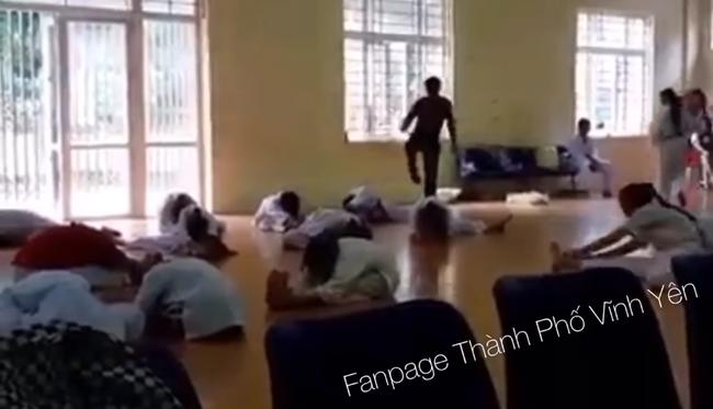 Trưởng phòng GD&ĐT huyện Yên Lạc, Vĩnh Phúc nói về vụ thầy dạy võ hành hung học viên: Việc giẫm đạp vào mình như vậy thì cũng chết chứ nói gì các cháu-2