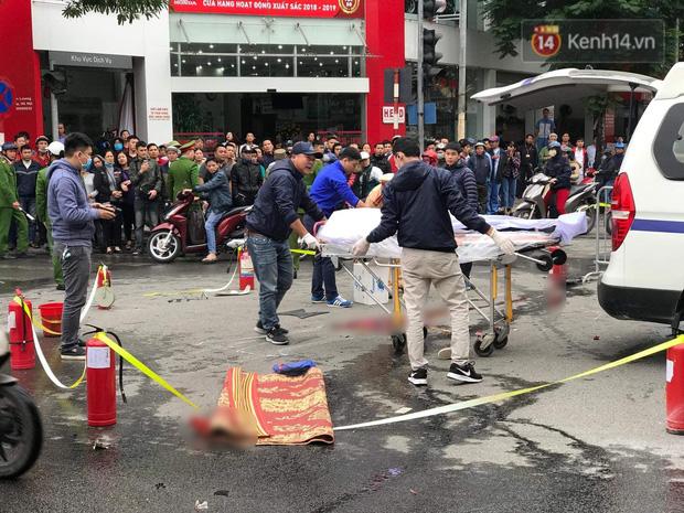 Nữ tài xế lái xe ô tô Mercedes GLC 250 gây tai nạn liên hoàn rồi bốc cháy đã ra công an trình diện-2