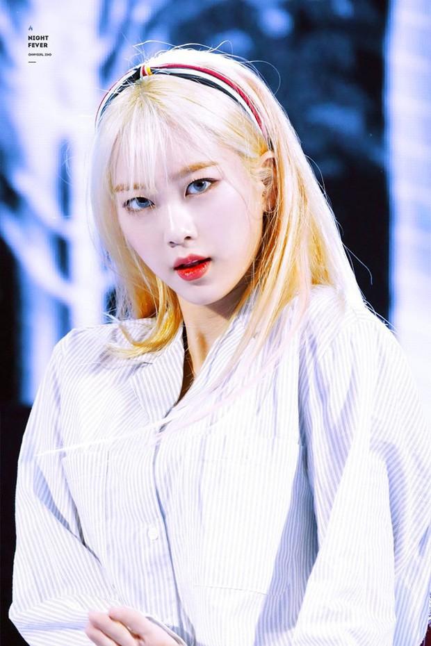 Nhan sắc nữ thần tóc vàng mới của Kpop-4