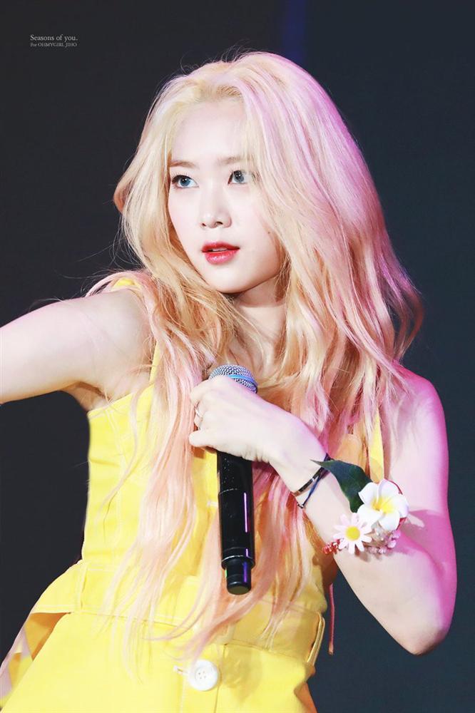 Nhan sắc nữ thần tóc vàng mới của Kpop-11