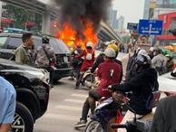 Nữ sinh 18 tuổi sợ hãi kể lại giây phút thoát chết trong vụ xe ô tô Mercedes gây tai nạn liên hoàn rồi bốc cháy