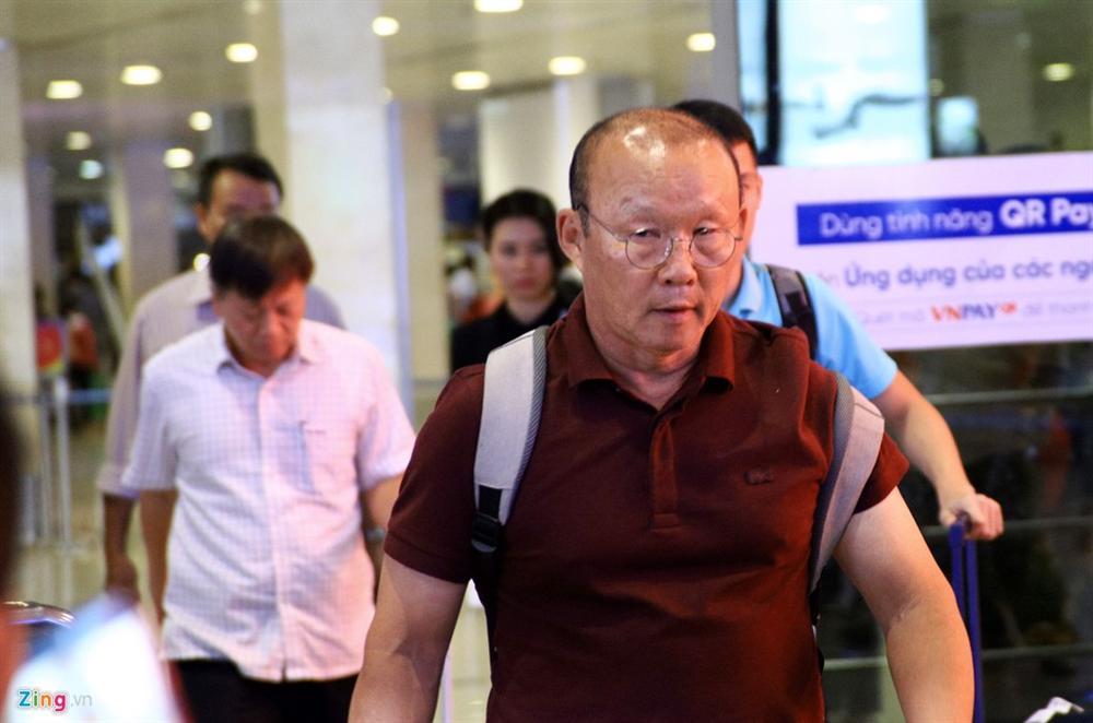 Thầy trò HLV Park đến TP.HCM hội quân cùng U22 Việt Nam-1