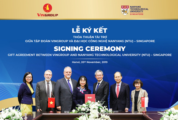 Vingroup cấp học bổng cho tài năng Việt học ĐH Công nghệ Nanyang-1