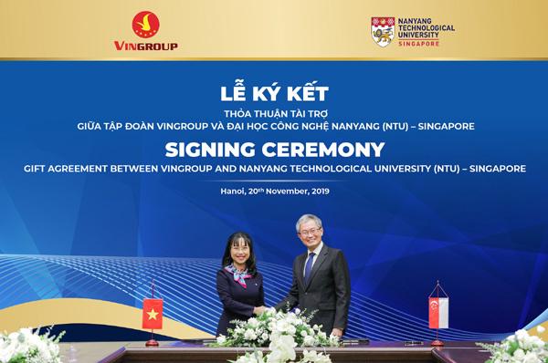 Vingroup cấp học bổng cho tài năng Việt học ĐH Công nghệ Nanyang-2