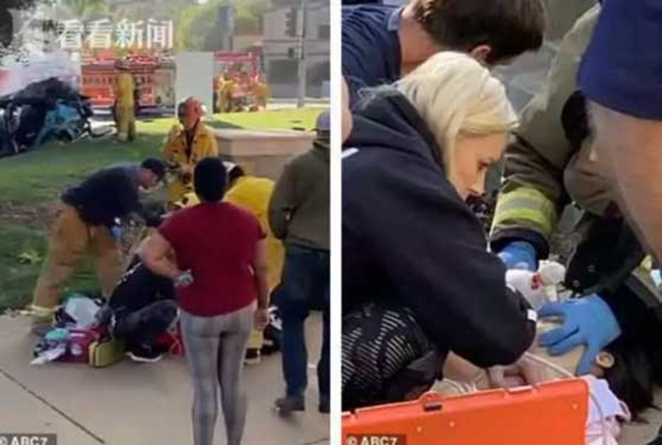 Người phụ nữ gây hoang mang dư luận khi khỏa thân lái xe gây tai nạn rồi bỏ mặc 2 con trong biển lửa, trốn khỏi hiện trường-2