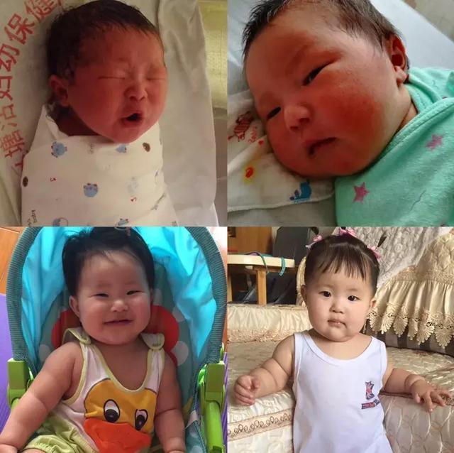 Lúc sinh ra nhăn nheo xấu xí nhưng chỉ 1 tháng sau, em bé lật ngược tình thế khiến ai cũng xuýt xoa-3