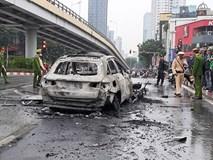 Tạm giữ hình sự nữ tài xế đi giày cao gót lái xe ô tô Mercedes gây tai nạn liên hoàn trên đường Lê Văn Lương