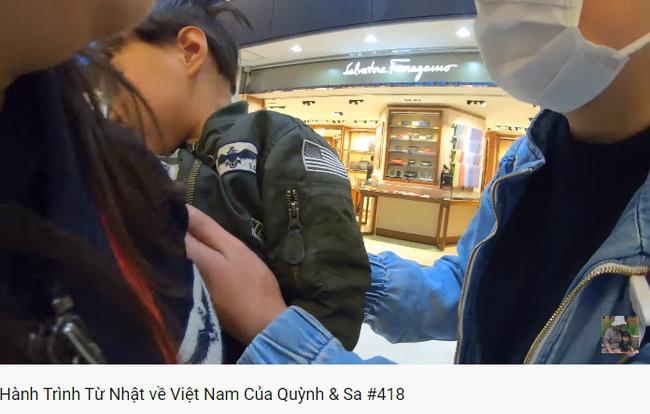 Trọn vẹn hành trình từ Nhật về Việt Nam của mẹ con Quỳnh Trần JP: Vô tình gặp cả người hâm mộ ở sân bay khiến Sa vô cùng ngại ngùng-2