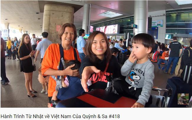 Trọn vẹn hành trình từ Nhật về Việt Nam của mẹ con Quỳnh Trần JP: Vô tình gặp cả người hâm mộ ở sân bay khiến Sa vô cùng ngại ngùng-3