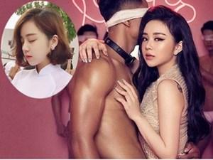 Nhã Tiên - từ hot girl ngủ gật đến cô gái chiêu trò, nghiện khoe thân