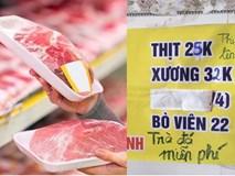 Người tiêu dùng ngán ngẩm vì giá thịt lợn tăng cao kéo theo cả loạt mặt hàng khác cũng tăng giá