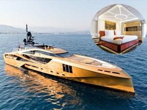 Bên trong du thuyền sang trọng 31 triệu USD được mạ vàng