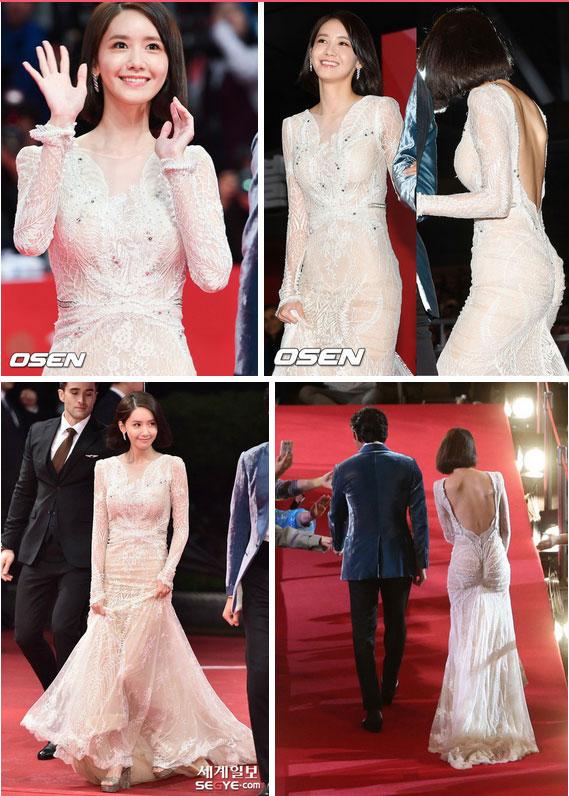 Lại diện kiểu váy hack vòng 3 nhưng lần này Yoona không còn khiến dân tình nóng mắt như trước đây nữa rồi!-3