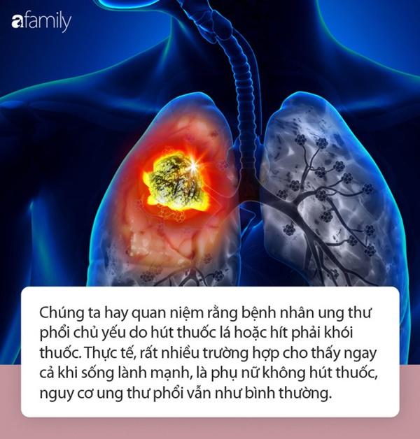 Không bao giờ hút thuốc và ăn uống rất lành mạnh nhưng 3 phụ nữ sau vẫn bị ung thư phổi-1