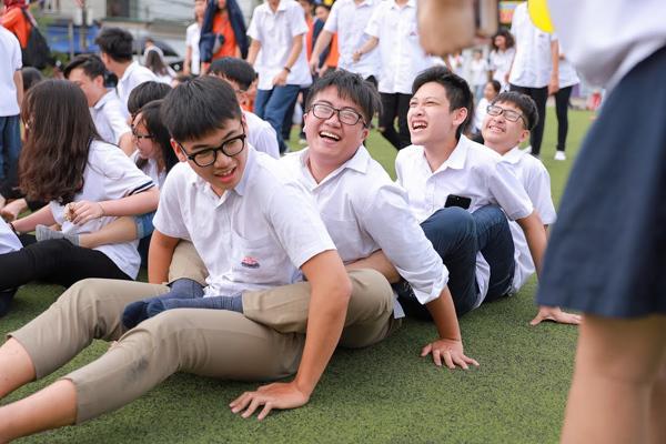 Ngày hội 20/11 'vui hết mình' của thầy trò THPT Hồng Hà-2