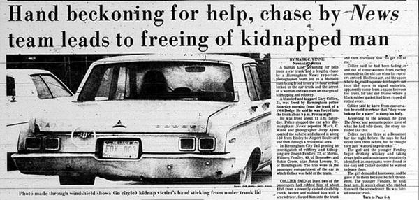 Bức ảnh ô tô chạy trên đường gây rùng mình với chi tiết bàn tay thò ra khỏi cốp xe hé lộ ý định giết người diệt khẩu của 3 kẻ ác-2