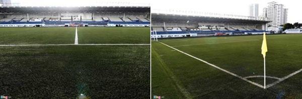 Sân bóng đá SEA Games 30 ngổn ngang trước ngày thi đấu-2