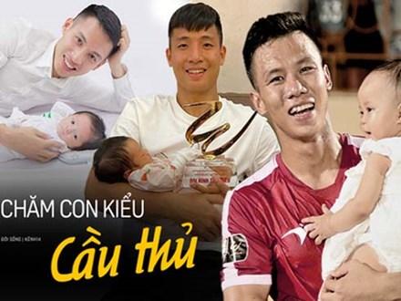 Ông bố bỉm sữa quốc dân gọi tên dàn cầu thủ Việt Nam: Giặt giũ, tắm gội, cho con ngủ anh cân tất!