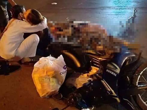 Bình Phước: Mẹ ôm thi thể con gái 15 tuổi khóc ngất khi bị xe tải cán qua người tử vong-2