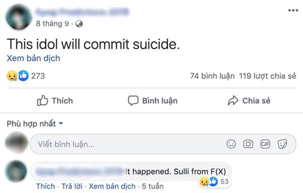 Rùng mình lời tiên tri chuẩn xác về việc Goo Hara qua đời của một tài khoản facebook, đã từng tiên đoán cả sự ra đi của Sulli-2