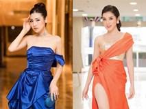 Tú Anh, Huyền My diện váy xẻ 'cao ngút' khoe chân dài gợi cảm