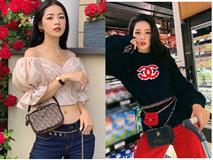 Sợ xài 1 túi chưa đủ giàu sang, Chi Pu chịu chi mua luôn 2 chiếc Chanel đeo một lần