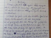 Bài văn biểu cảm về cô giáo khiến người đọc cười ra nước mắt