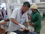 Một bệnh nhân nghi dùng súng tự bắn vào đầu tại khoa Cấp cứu Bệnh viện Trưng Vương-2