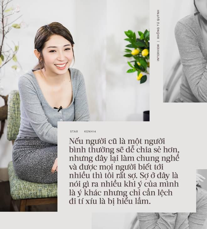 Khổng Tú Quỳnh lần đầu trải lòng chuyện chia tay Ngô Kiến Huy: Nếu chạm mặt nhau tôi vẫn thoải mái đối diện-5