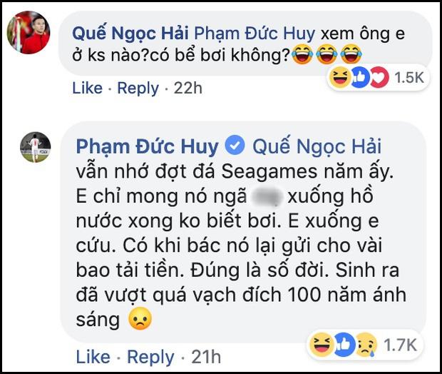 Bình luận của Đức Huy về cầu thủ mang thân phận hoàng gia bất ngờ được share điên đảo bên lề trận Việt Nam gặp Brunei ở SEA Games-2