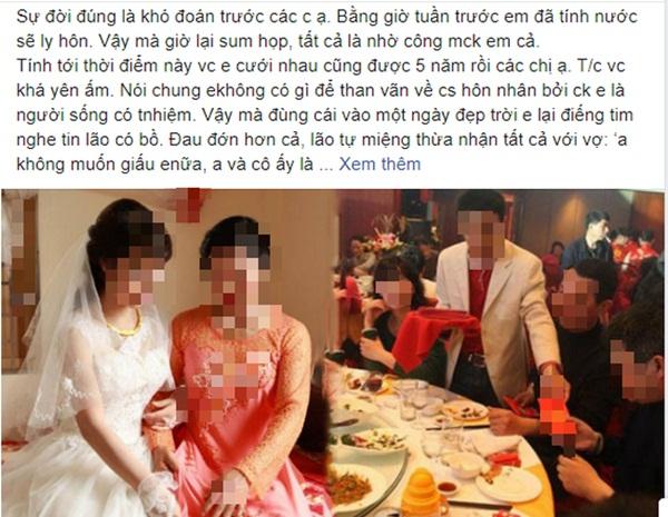 Chồng đòi bỏ vợ cưới bồ, mẹ chồng lập tức làm cỗ linh đình mời cả họ tới nhận dâu mới nhưng chuyện phía sau mới khiến anh tái mặt-1