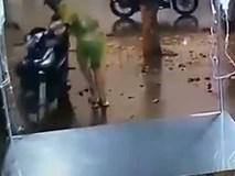 Trộm cuỗm xe máy trong vòng 10 giây