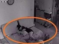 Con trai dẫn bạn nữ về nhà, bố nhìn qua camera thấy việc 2 đứa làm liền nổi giận