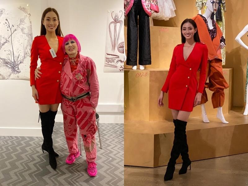 Lương Thùy Linh vào Top 10 phần thi Siêu mẫu tại Miss World-1